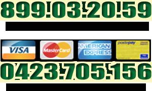 banner 899 e carta di credito